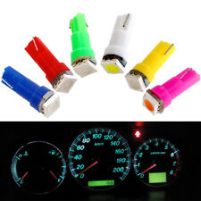 T5 5050 1SMD 70 74 Led Dashboard Bulbs Instrument Panel 10x Car Indicator Lamps