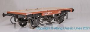 Dapol 7F-037-102, Gauge O, British Railways Conflat A wagon in BR Bauxite