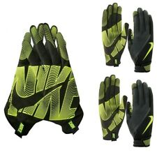 Nike Mens Gloves Full Finger Workout Gym Glove Lunatic Training Black Volt