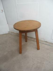 A Beautifully Waxed Original Victorian Antique/Old Pine Welsh Cricket Table