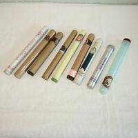 9 Vintage Empty Cigar Tubes