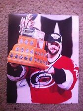 Cam Ward Autographed 8x10 Photo Carolina Hurricanes Conn Smythe Stanley Cup