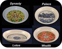 """Chinese Tableware Melamine Round Soy Sauce Dip Spices Dish Plate 2.8""""/3.2"""" dia."""