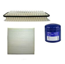 Engine Oil & Air Paper Cabin Filter Kit ACDelco Pro For Subaru BRZ 2.0L H4
