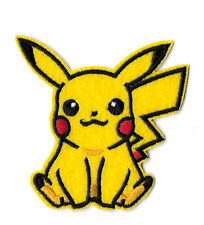 Pokemon - Pikachu - Game - Go - Embroidered Iron On Applique Patch