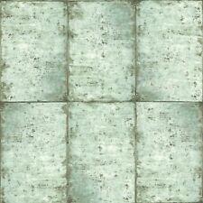 Rasch Textil Greenhouse Papel Pintado 138878 Azulejos Verde Claro Fieltro