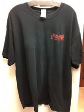 Realm Studios Film Crew 100% Cotton Black Graphic Tee Shirt sz XL  FS