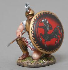 Thomas Gunn Ancient Greeks & Persians Spa026B Kneeling Spartan Centaur Shield Mb