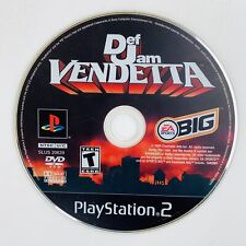 Def Jam Vendetta (Sony PlayStation 2, 2003) PS2 Black Label - Disc Only