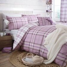 Curtains Checked Bedding Sets & Duvet Covers