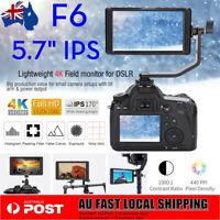 5.7'' Feelworld F6 4K 1080P Full HD IPS Camera Monitor Field Video For DSLR Cam