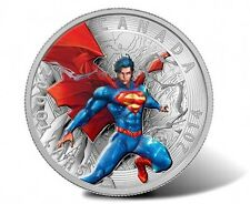 2014 Canada Silver Superman Coin Iconic Superman Comic Book Cover 2012 Annual #1