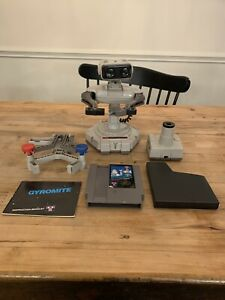 Nintendo ROB the Robot NES Vintage 1985 WITH Gyromite - As Is / For Parts