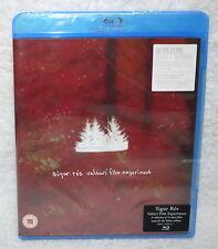 Sigur Ros Valtari Film Experiment Taiwan Blu-ray (BD) w/sticker