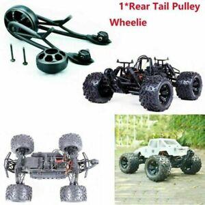 Schwarz Rear Tail Pulley Wheelie Bar Kit für Rovan Buggy 83006 HPI Savage XL 1/8