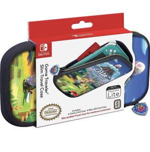 Nintendo Switch Lite Slim Travel Case The Legend of Zelda Links Awakening NEW