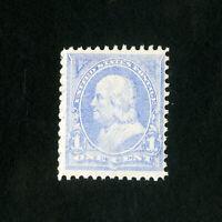 US Stamps # 246 F-VF OG NH Scott Value $90.00