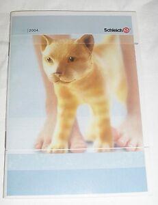 Schleich - Katalog - Prospekt - Werbeheft von  2004 - gebraucht