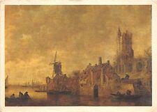 BR25242 Peinture Hollandaise Une Riviere en hollande peintures paint France