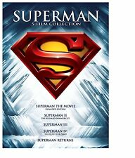 Superman: 5 Film Collection (DVD, 2013, 5-Disc Set)