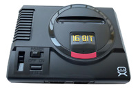 SEGA Console 16 Bit Genesis System 168 Games 2 Controllers New Model RCA Complex