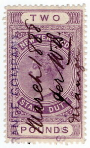 (I.B) New Zealand Revenue : Stamp Duty £2