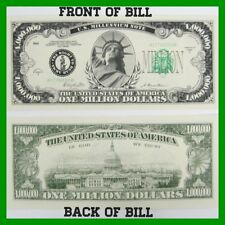 (1000) MILLION Dollar Bill Novelty Money - wholesale lot of 1,000 (one thousand)