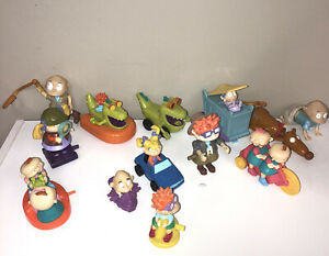 RUGRATS MOVIE 1998 - Burger King Kids Club Toy Lot - 5 Toys - All Work!