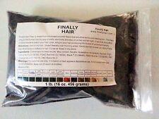 Finally Hair Building Fibers - Black / Dark Brown / Medium Brown / Light Brown