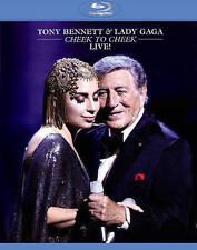 TONY BENNETT & LADY GAGA: CHEEK TO CHEEK LIVE! (NEW BLU-RAY)