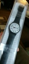 Swatch Unisex Analogue Quartz Watch with Silicone Strap USED in original box