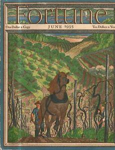 1935 Fortune June - Normandie; CBS; Bryn Mawr, George V