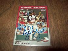 Jason Delaney > Crosscutters - Autographed  2005 Choice Sports Card # 08