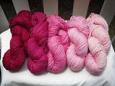Fleece Artist Merino 4/8 Gradient Set Knitting Yarn, Superwash Merino, 100g/200m