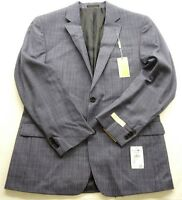 New Michael Kors Mens Suit Navy Two Button Wool Size 40 X 38 Regular