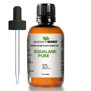 100% Pure Organic Squalane Oil - 1oz - Imported From Italy - Natural Anti Aging