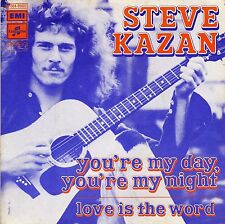 """STEVE KAZAN YOU'RE MY DAY, YOU'RE MY NIGHT / LOVE IS THE WORD FRENCH 45 PS 7"""""""