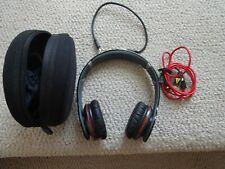 Beats by Dr. Dre Monster Solo HD Wired Headband On-Ear Headphones Black w/ Case