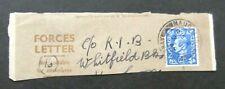 Gb-1949-George Vi Forces Letter Postmark-Mauchline