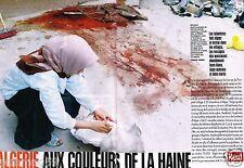 Coupure de Presse Clipping 1997 (6 pages) Algérie aux Couleurs de la haine