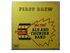 THE REAL ALE AND THUNDER BAND * FIRST BREW *VINYL LP HONKY TONK HT33 PLAYS GREAT