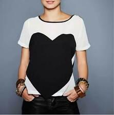 Damenblusen,-Tops & -Shirts im Blusen-Stil ohne Kragen und Chiffon für Freizeit
