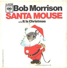 BOB MORRISON--PICTURE SLEEVE ONLY---(SANTA MOUSE)--PS--PIC--SLV