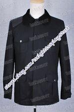 BBC TV Sherlock Holmes Costume Dr. Watson John Watson Black Jacket Coat Doctor