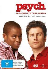 Psych : Season 3 (DVD, 4-Disc Set) NEW