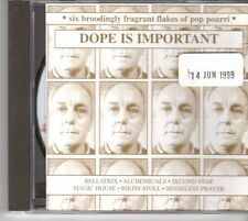 (DM214) Dope Is Important, 6 tracks various artists - 1999 CD