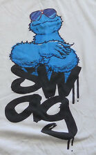 Sesame Street Cookie Monster Swag T-shirt Sunglasses Large