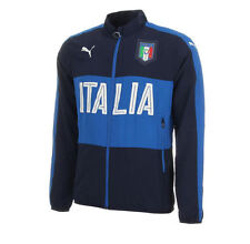 Puma Italy woven jacket 7-8 years BNWT peacoat-team power blue