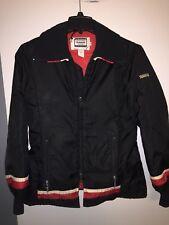 Vintage YAMAHA Red & Black Snowmobile Jacket COAT Medium Small Racing
