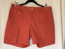 Women's Dockers Coral Casual Walking Shorts Size 12 Pocketed